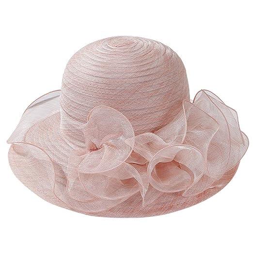 18f3473a0 Women Bridal Tea Party Beach Hat Fascinator Sun Hat Church Kentucky ...