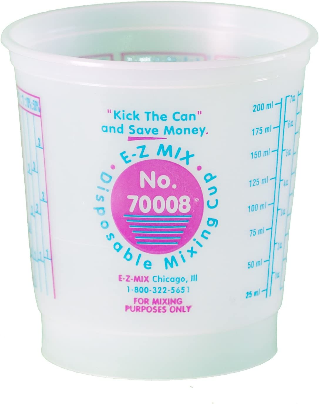 1//2 Pint Disposable Mixing Cups 100//Box