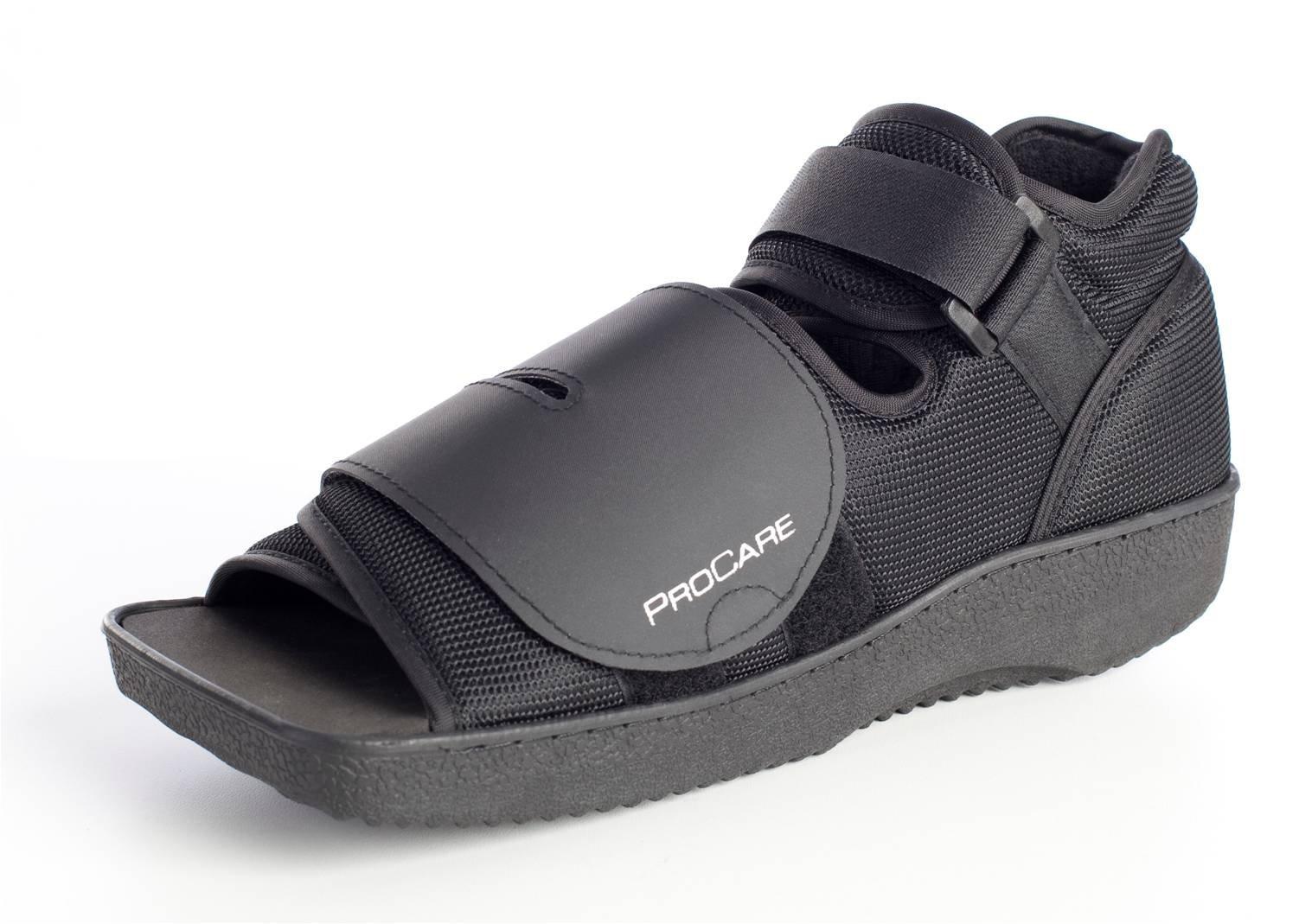 ProCare Squared Toe Post-Op Shoe, Medium (Shoe Size: Men's 7.5-9 / Women's 8.5-10)