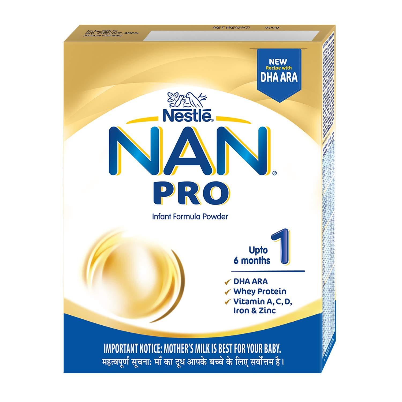 NAN PRO 1 Infant Formula Powder (400gm Refill)