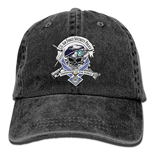 Amazon.com  Defensor Fortis Air Force Security Force Dad Hat Adjustable  Unisex Baseball Cap  Clothing c29e9280024