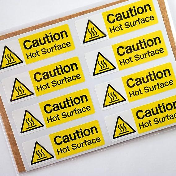 Health /& Safety,Food Hygiene Danger Sticker GEN0025 Danger Very Hot Water Sign