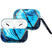 Marble Pattern Protective Soft Case Cover For Airpods Pro - Blue