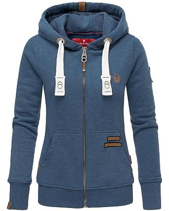 new products a89c6 a5dd8 Navahoo Damen Sweatshirt Hoodie Pullover Pulli Sweater Sweatjacke Kapuze  B564