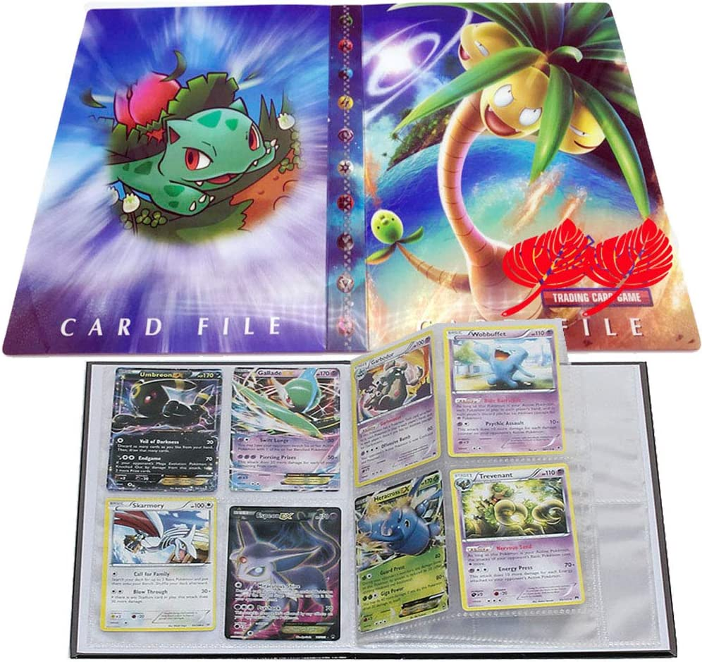 HS PIKAQIU Pokemon Binder 30 Pages Holds up to 240 Cards LSST Album For Pokemon Trading Cards Pokemon Card Holder Binder Pokemon Card Book Pokemon Card Holder