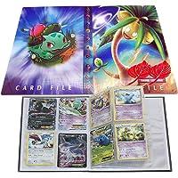 Trading Card Set, Collection Handbook, Book Best Protection Album for Pokemon - GX EX (Bulbasaur)