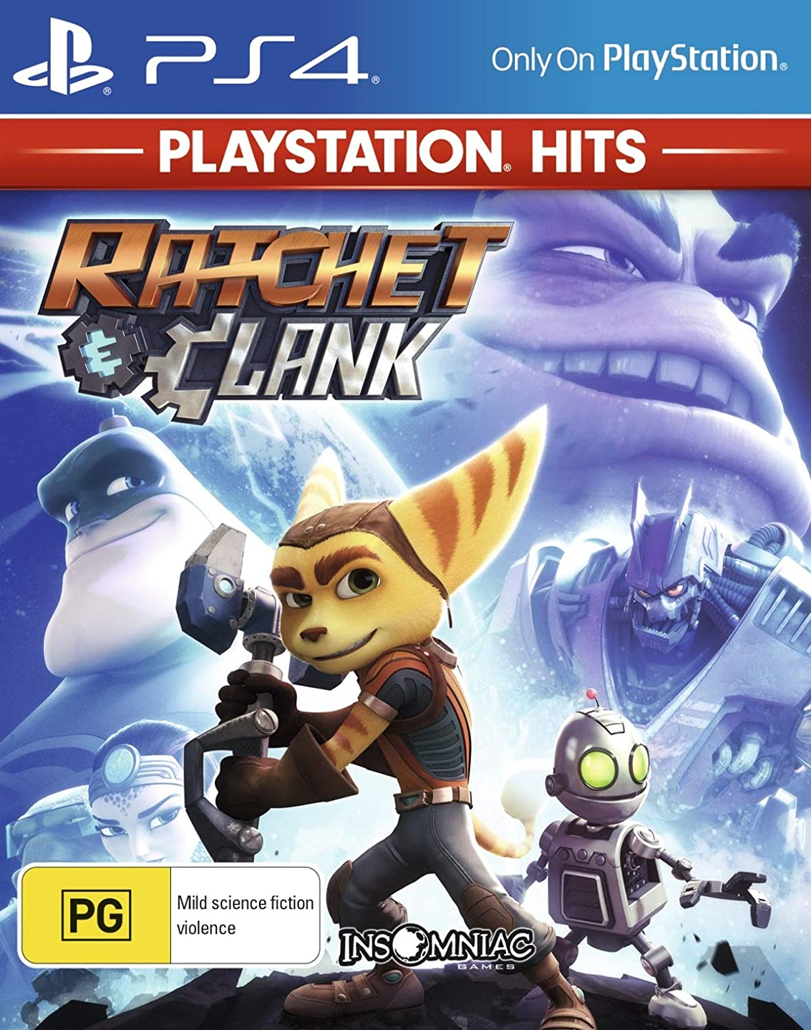 Amazon Com Ratchet Clank Playstation 4 Ps4 Video Games