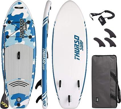 THURSO SURF Niña/Niño/Junior Tabla Paddle Surf Hinchable Prodigy ...
