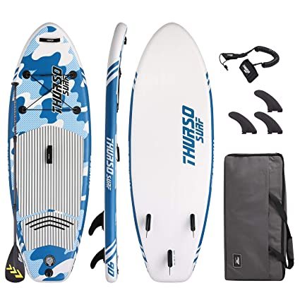 THURSO SURF Niña/Niño/Junior Tabla Paddle Surf Hinchable ...