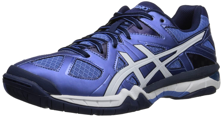 ASICS Women's Gel Tactic Volleyball Shoe B00Q2JN84S 10.5 B(M) US|Powder Blue/White/Indigo Blue