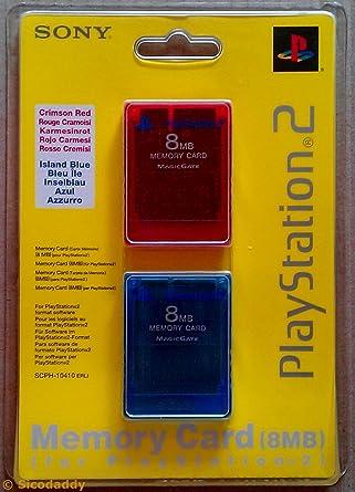 Memory Card 8mb Box.2-(Ps2): Amazon.es: Videojuegos