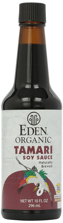 A bottle of Eden Foods gluten-free tamari