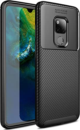 Yocktec Huawei Mate 20 Funda, [Resistente a los arañazos] Funda Protector Ultra rígido Ultra liviano, súper liviano Premium para Smartphone Huawei Mate 20 (Negro): Amazon.es: Electrónica
