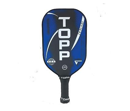 Topp Pickleball Paddle Reacher Graphite Blade (Ceil Blue/White)