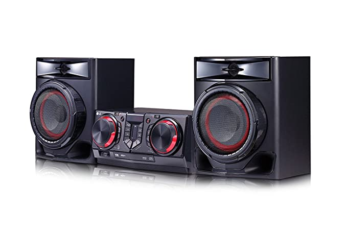LG CJ44 Sistema de - Karaoke (480 W, Digital, Alámbrico, CD-R,CD ...