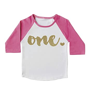 Girl First Birthday Outfit Shirt One Year Old 6 12mo
