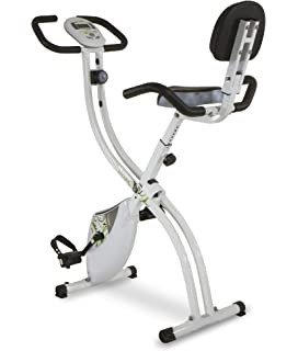 Tecnovita by BH Back Fit - Bicicleta estática plegable, Unisex adulto, color Blanco /