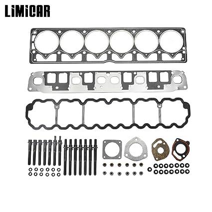 Amazon.com: LIMICAR Cylinder Full Head Gasket Set Head Bolts ... on