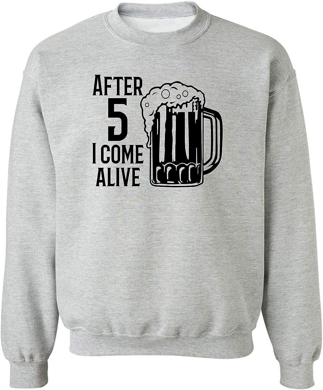 zerogravitee After 5 I Come Alive Crewneck Sweatshirt