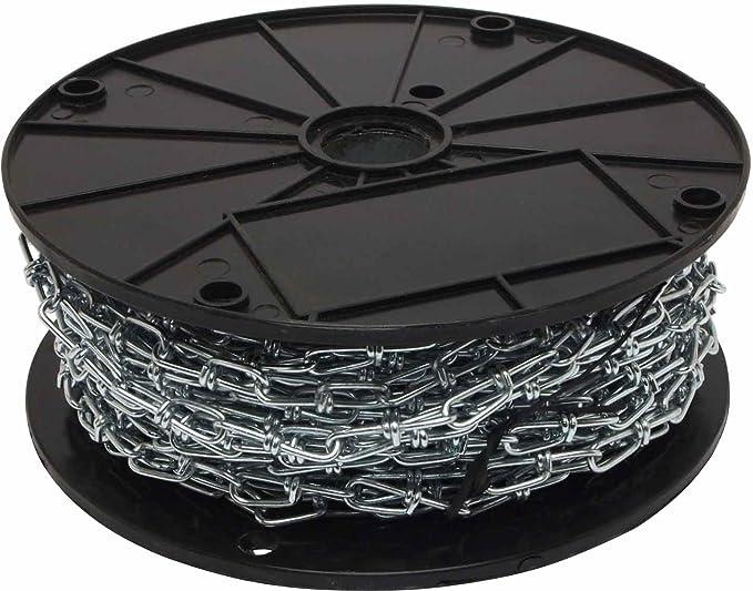 4//0 Double Loop Chain Galvanized 100Ft Box