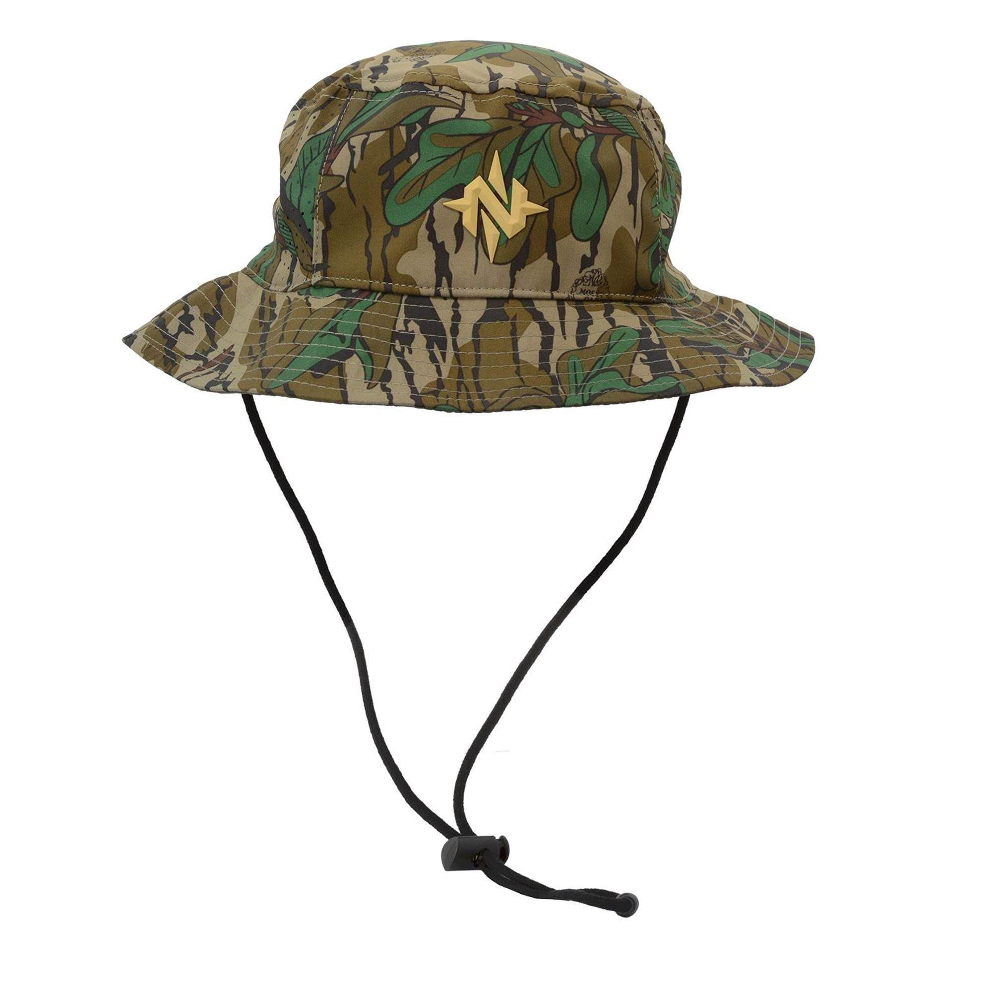 Nomad Outdoor Bucket Hat, Mossy Oak Greenleaf, One Size by Nomad