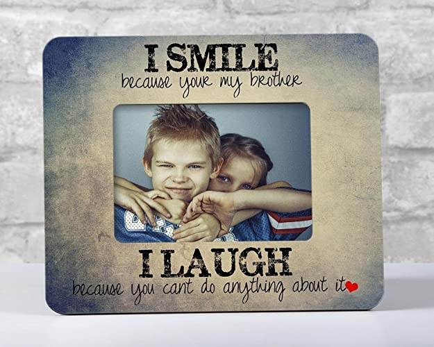 Amazon Com Brother Frame Brother Birthday Gift Brother And