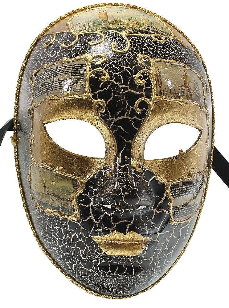 Masquerade Ball Clothing: Masks, Gowns, Tuxedos RedSkyTrader Mens Full Face Carnival Mask $21.90 AT vintagedancer.com