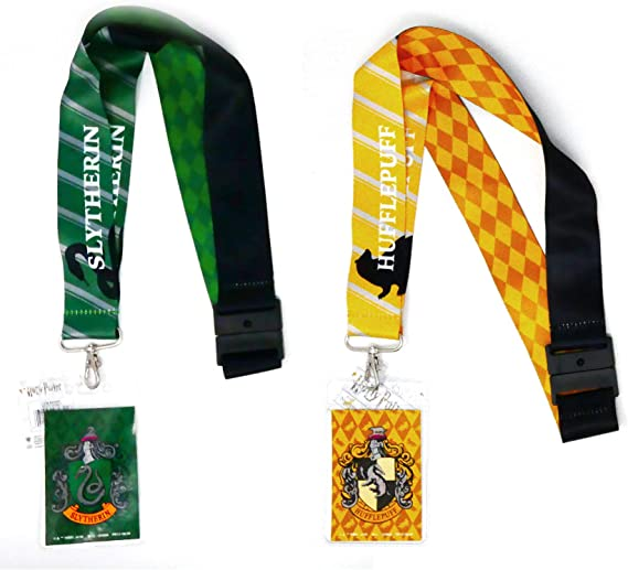 Green Harry Potter Unisex-Adults Slytherin Lanyard One Size