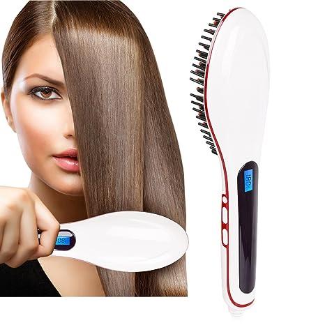 NiceTime - Alisador de Pelo Digital - Cuidado aniónico, anti quemaduras, protector del cabello. Cuida, alisa y desenreda.: Amazon.es: Salud y cuidado ...