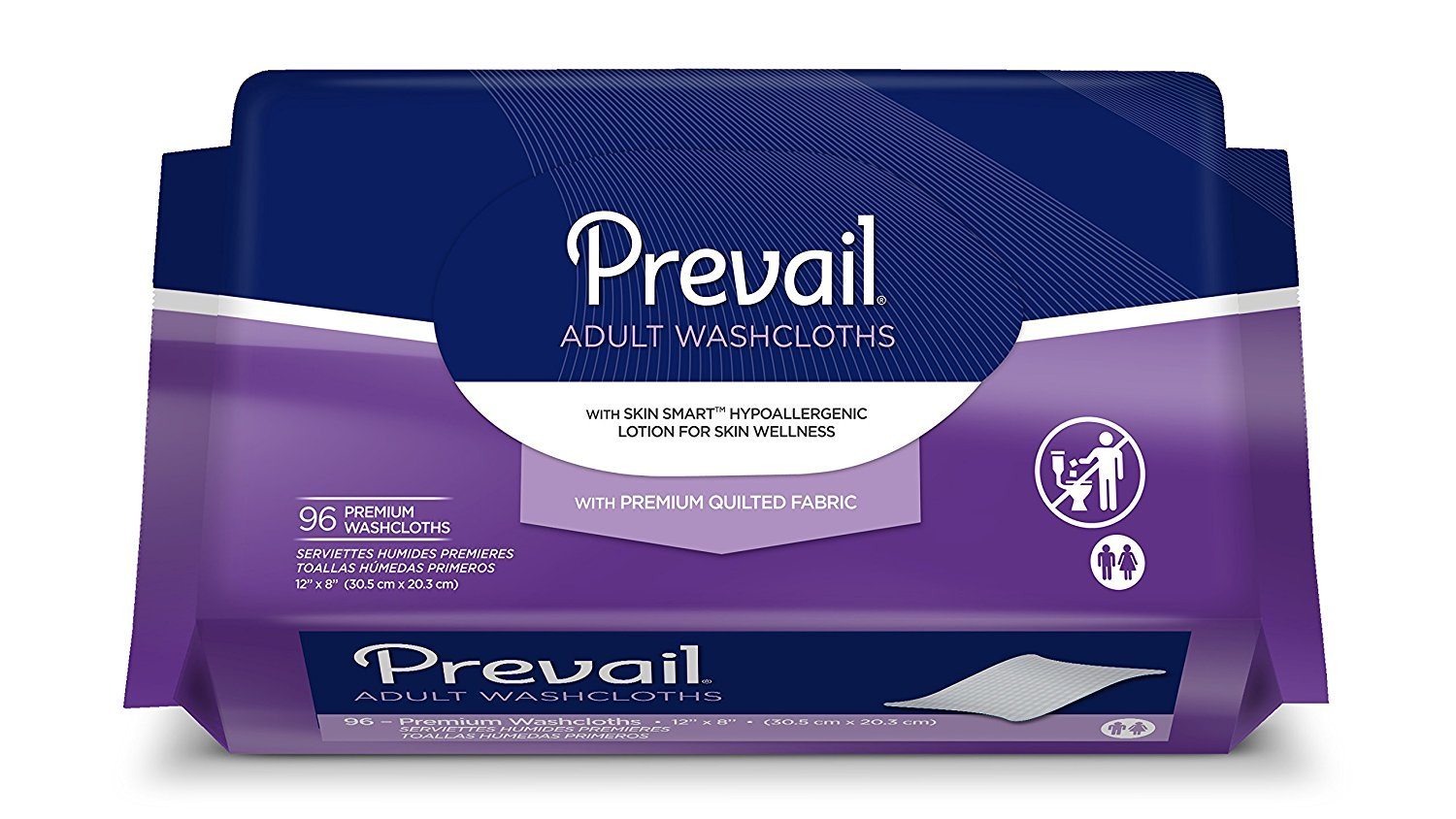 Amazon.com : Prevail Disposable Washcloths, Prevail Wshclth Ref Jumbo Pk, (1 CASE, 576 EACH) : Incontinence Cleansers And Deodorants : Beauty