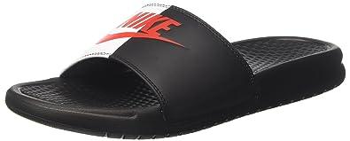Nike Herren Benassi JDI Dusch & Badeschuhe, Schwarz (Black