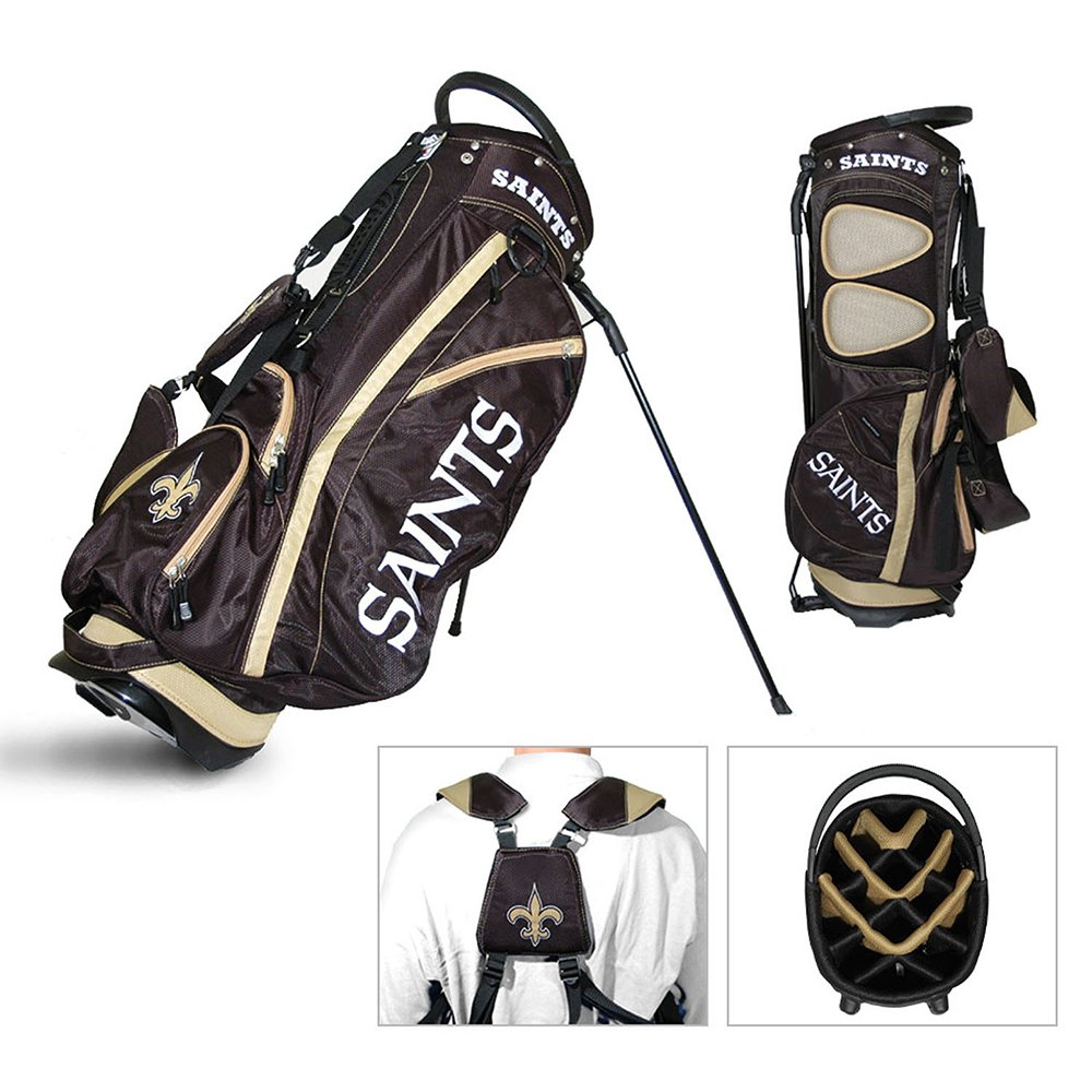 NFL Fairway Stand Bag NFL Team: New Orleans Saints