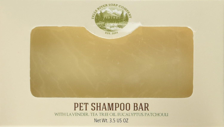 Falls River Soap Pet Shampoo and Soap Bar – 3.5 Oz Bar- Flea & Tick Shampoo Bar for Dogs & Cats to Kill & Repel Fleas and Ticks – Handmade, Organic, Vegan, Cruelty Free Falls River Soap Company LLC BB-00063