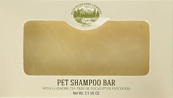 Champú y barra de jabón para mascotas - Barra de 3.5 oz Barra de pulgas y garrapatas para perros y gatos para matar y repeler pulgas y garrapatas - ...