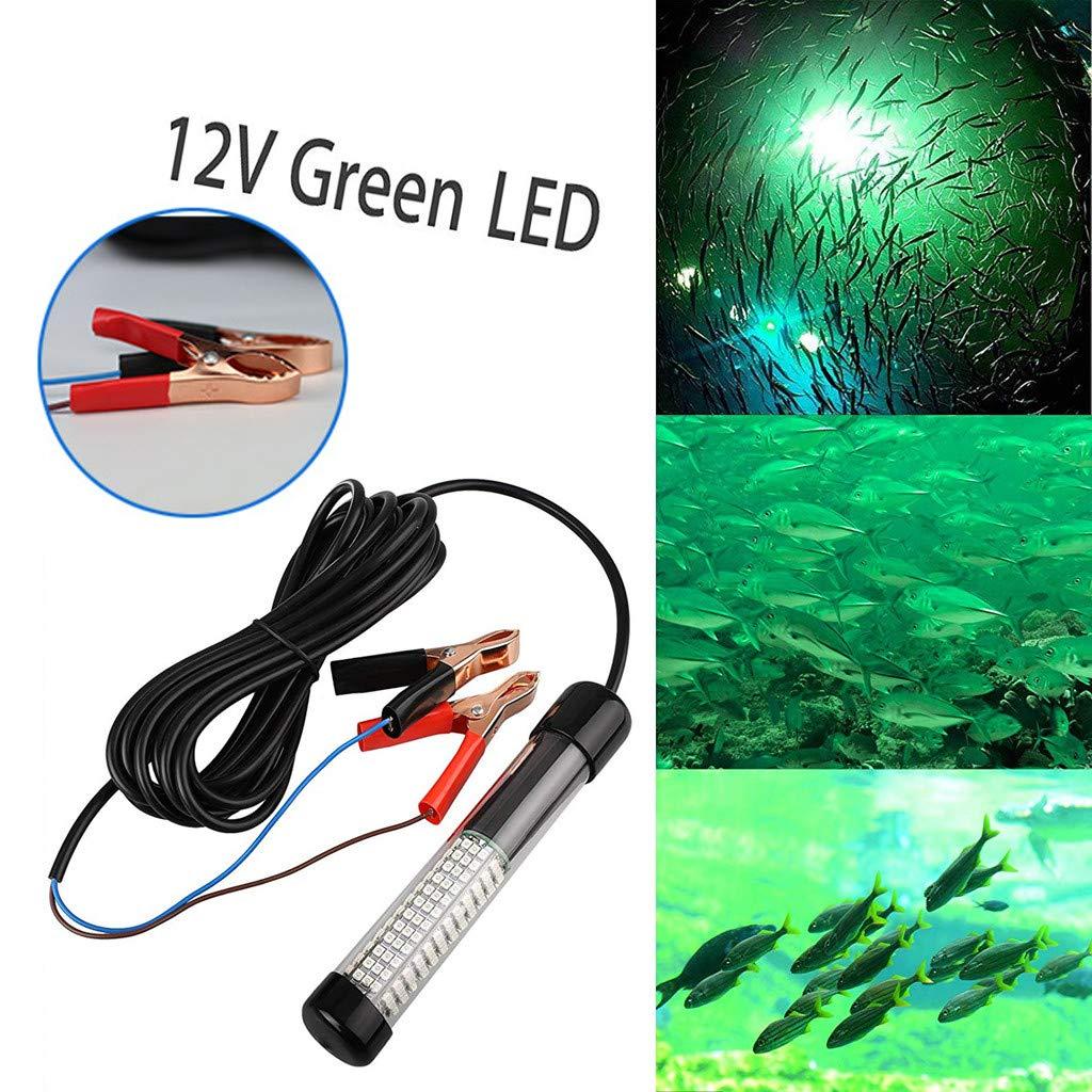 12V LED Bait Detector Night Fishing Luminous Fishing Bait Finder Fast Easy Fishing, Fishing Boat LED Diving Underwater Light for Fishing Nets, Sea Fishing, Cage Fishing, and Light Cover Net