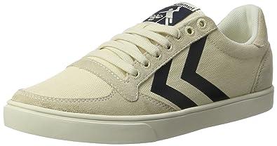 hummel SL. Stadil Herringbone Low, Sneakers Basses Femme, Gris (Frost Grey), 38 EU