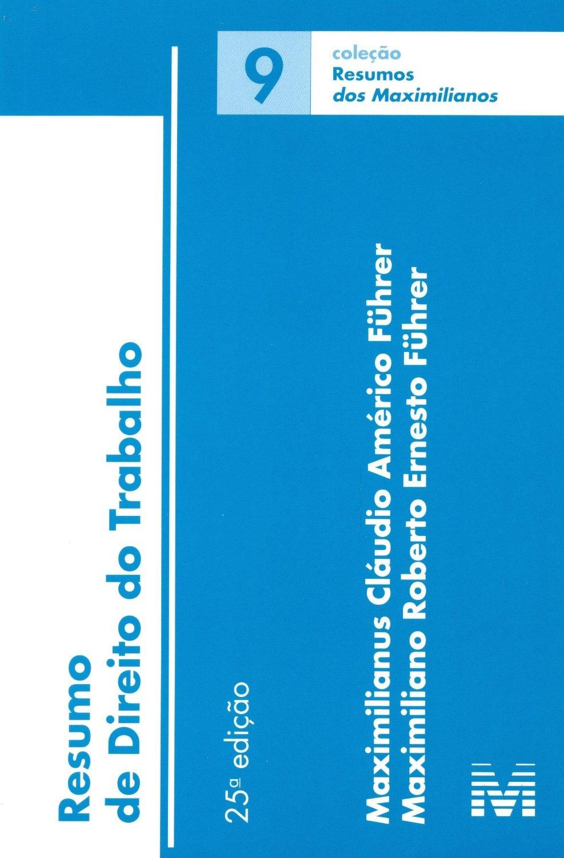 Download Resumo de Direito do Trabalho - Vol.9 - Colecao Resumos pdf