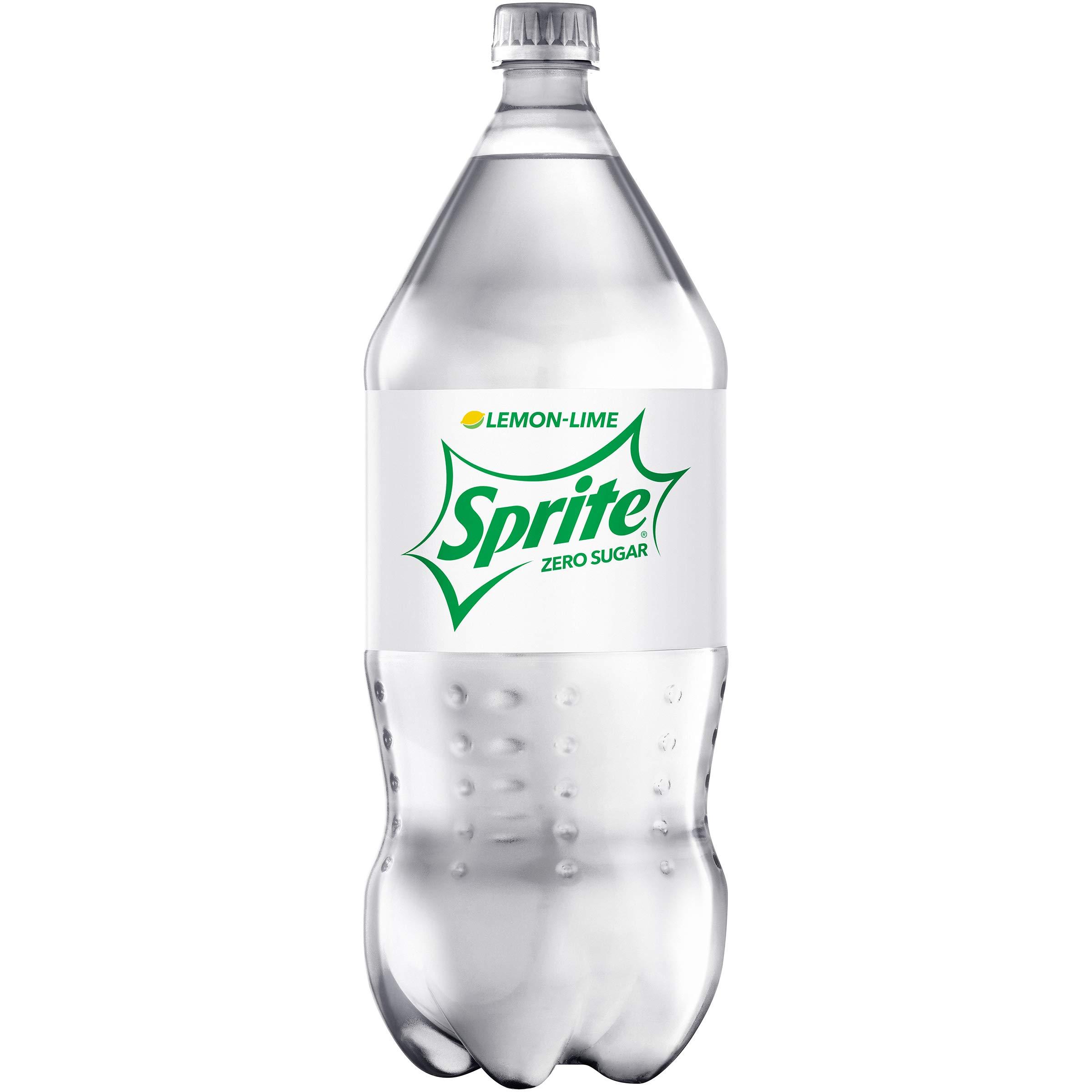 Sprite Zero Lemon Lime Diet Soda Soft Drink, 2 Liter Bottle