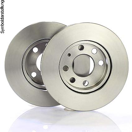 Bremsscheiben Scheibenbremse Ø280mm Bremsbeläge Klötze Vorne Vorderachse 500ml Bremsenreniger Auto