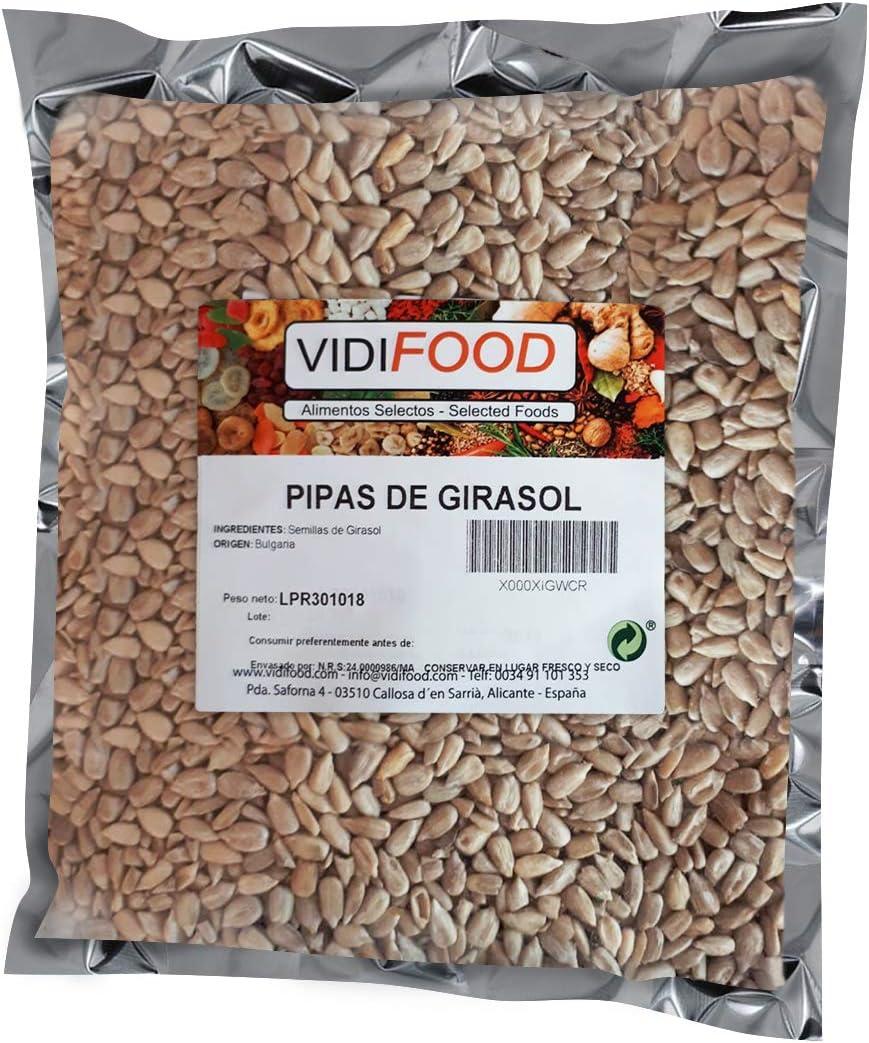 Semillas de Girasol - 1kg - Bocaditos crujientes pelados, listos ...