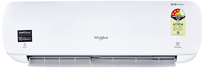 Whirlpool 1 Ton 3 Star Inverter Split AC (Aluminium, 1.0T 3DCool Eco 3S-W, White)
