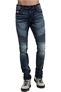 Amazon.com: True Religion Rocco Classic Moto Skinny Fit ...