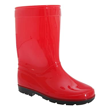 Childrens/Kids Unisex Plain Welly/Wellington Boots JD_7689