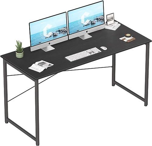 Editors' Choice: Cubicubi Computer Desk 55″ Home Office Laptop Desk Study Writing Table