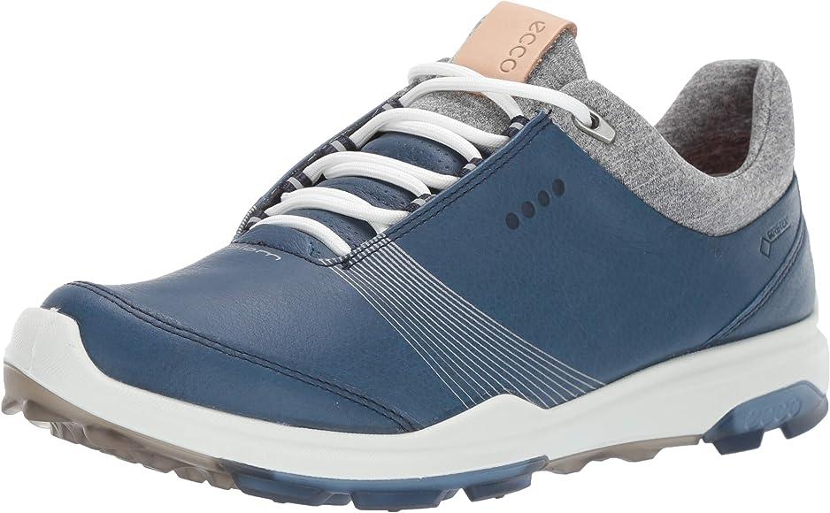 ECCO Womens Biom Hybrid 3 Gore-TEX Golf Shoe, Denim Blue, 35 M EU ...