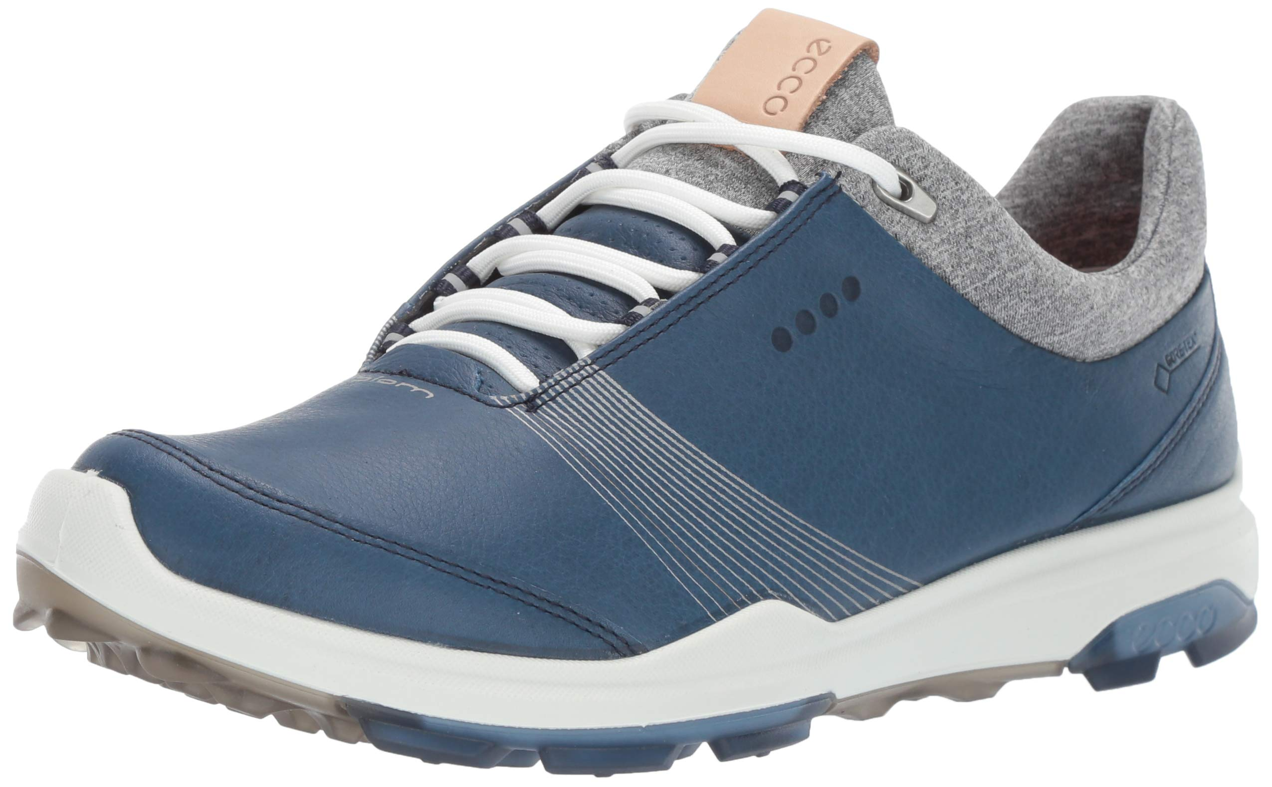 ECCO Women's Biom Hybrid 3 Gore-TEX Golf Shoe, Denim Blue, 35 M EU (4-4.5 US)