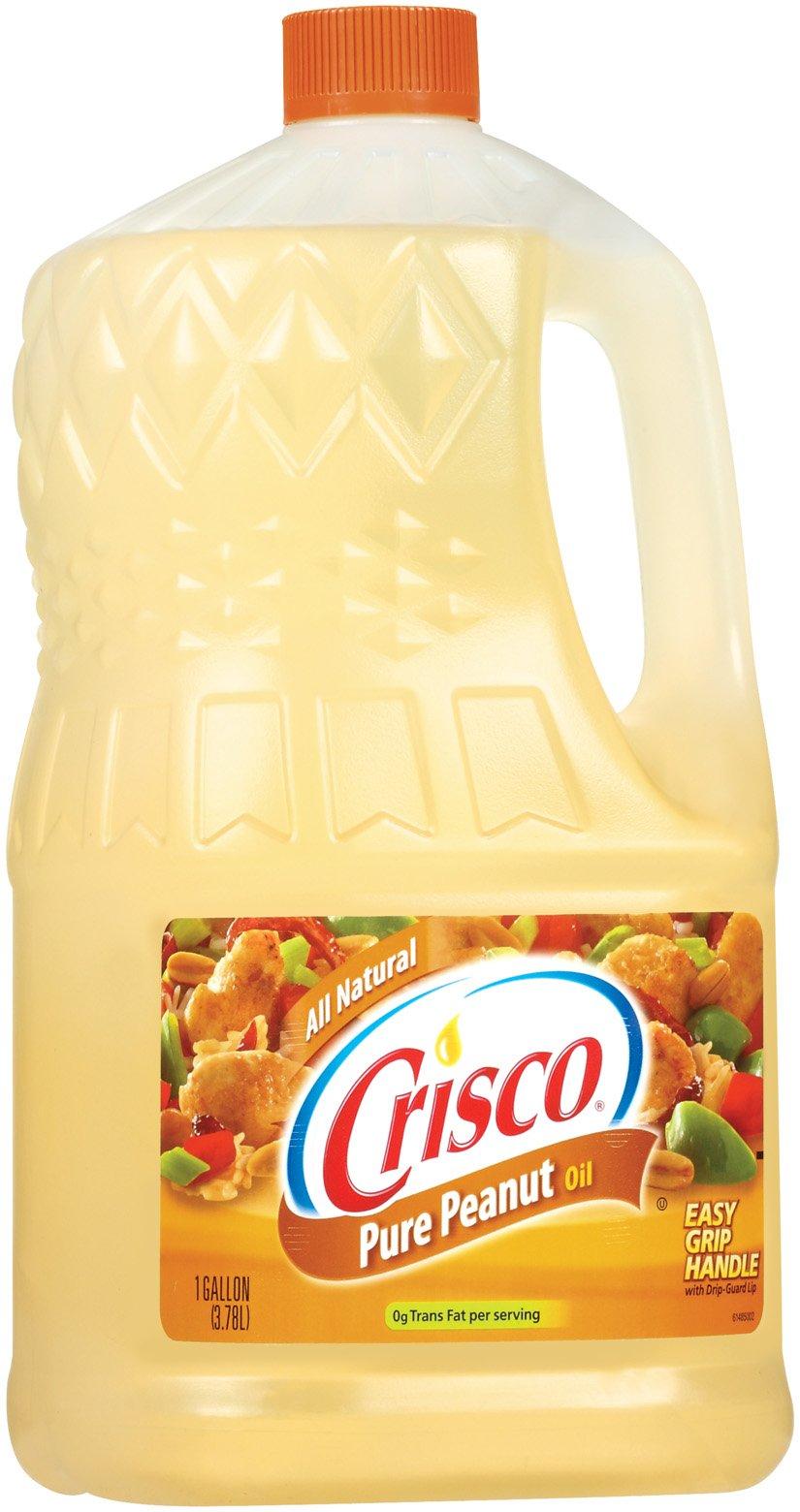 Crisco Pure Peanut Oil, 1 Gallon (Pack of 4) by Crisco (Image #1)