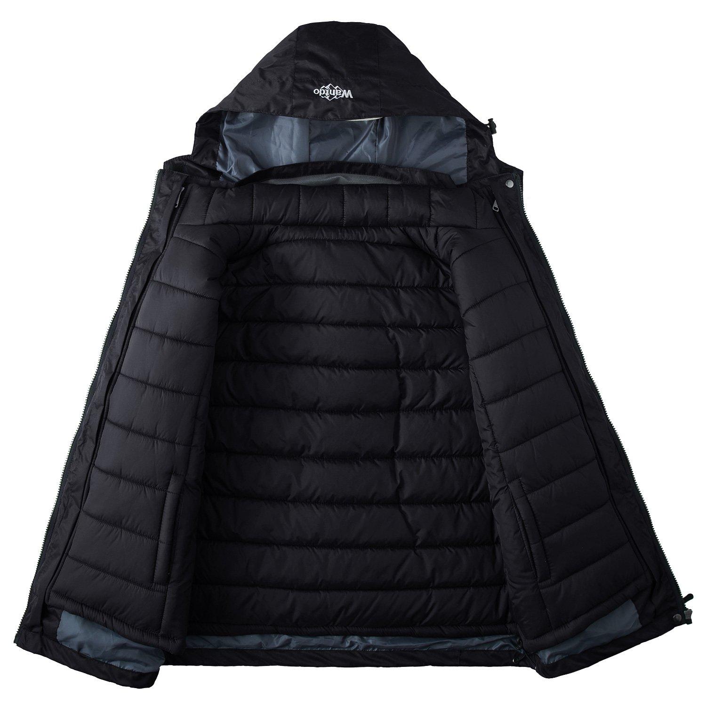 9c8ffe32e Amazon.com  Wantdo Women s 3-in-1 Waterproof Ski Jacket Interchange  Windproof Puffer Liner Warm Winter Coat Insulated Short Parka  Clothing