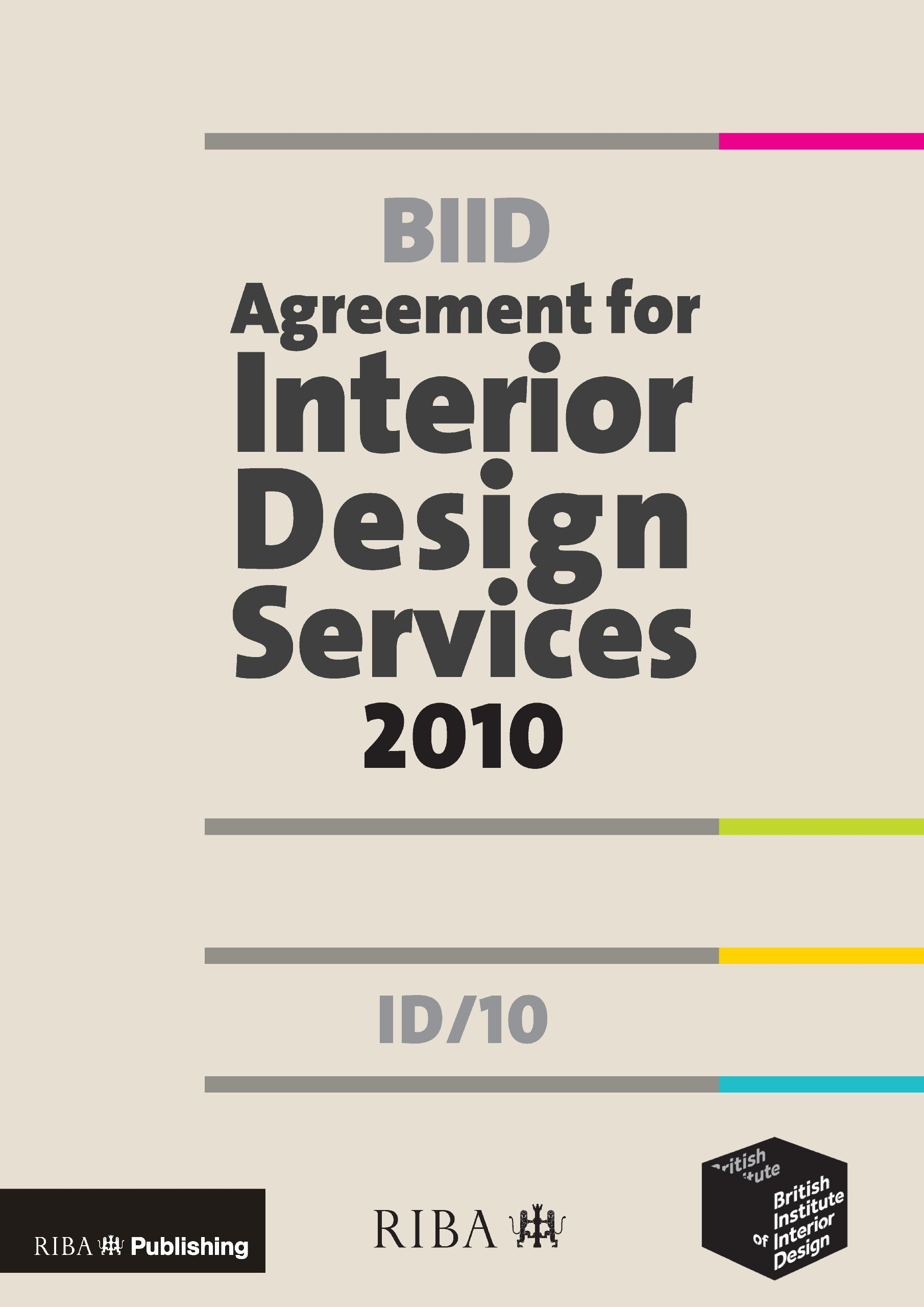 Biid Agreement For Interior Design Services 2010 Id 10