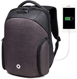 OZUKO Anti Theft Business Laptop Backpack with USB Charging Waterproof  Casual Daypack Rucksack… 5a3bbec3036b1
